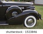 Front Quarter Of Vintage Buick  ...