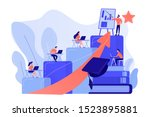 qualification increase course ... | Shutterstock .eps vector #1523895881