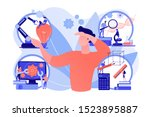 multidisciplinary teaching... | Shutterstock .eps vector #1523895887