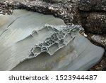 Windswept Stone Rock Formation...
