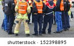 in any urban area the fire... | Shutterstock . vector #152398895