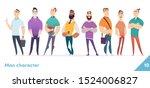 people character design... | Shutterstock .eps vector #1524006827