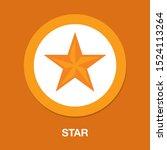 vector star symbol  rating or... | Shutterstock .eps vector #1524113264