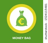 money bag   currency symbol ... | Shutterstock .eps vector #1524115481