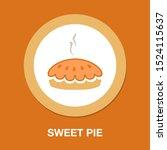 birthday cake  birthday dessert ... | Shutterstock .eps vector #1524115637