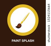 paint brush   painting icon ... | Shutterstock .eps vector #1524115664