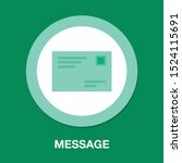 mail icon  letter message... | Shutterstock .eps vector #1524115691