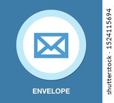 mail icon  letter message... | Shutterstock .eps vector #1524115694