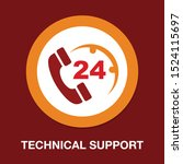help icon  technical support... | Shutterstock .eps vector #1524115697