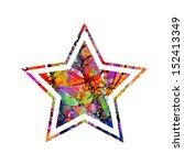 color star | Shutterstock .eps vector #152413349