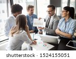 group of successful business... | Shutterstock . vector #1524155051