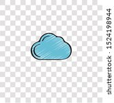 cloud computing icon sign and...