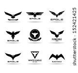 Stock vector eagles 152421425