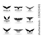 eagles  7 . | Shutterstock .eps vector #152421431