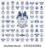 classic style emblems big set ... | Shutterstock .eps vector #1524242081