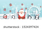 christmas in london. christmas ...   Shutterstock .eps vector #1524397424