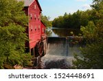Dells Mill, currently ran by the Amish in Wisconsin. Historic Landmark.