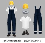 professional work wear and...   Shutterstock .eps vector #1524602447