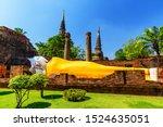 Sleeping Buddha Statue Covered...