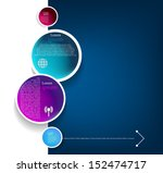 system vector circle colorloop...   Shutterstock .eps vector #152474717