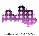 map of latvia   Shutterstock .eps vector #152479295