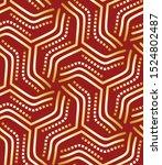 gold elegant geometric festive... | Shutterstock .eps vector #1524802487