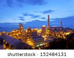 petrochemical oil refinery... | Shutterstock . vector #152484131