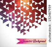 abstract  geometric backgrounds. | Shutterstock .eps vector #152487959