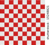 Red And White Glossy Checkered...