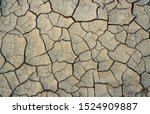 Climate Change And Drought Land....