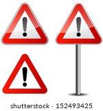 traffic sign | Shutterstock .eps vector #152493425