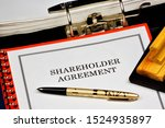 Small photo of Shareholder agreement - a contract for the exercise of rights certified by shares. The shareholders agreement shall be concluded in writing by drawing up a single document signed by the parties.