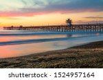 Dramatic San Clemente Pier...