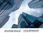 modern business center in... | Shutterstock . vector #152499059