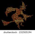 Halloween Word Cloud Vector In...