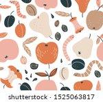 organic waste. seamless pattern ...   Shutterstock .eps vector #1525063817