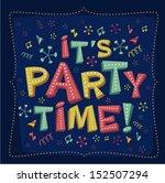 Party Invitation. Vector...