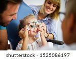ophthalmologist  optometrist... | Shutterstock . vector #1525086197