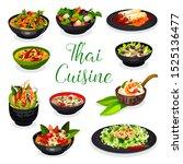 Thai Cuisine Soups With Noodle...