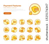 rounded payment features icon...