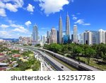 kuala lumpur skyline | Shutterstock . vector #152517785