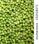 Many Green Peas As Background