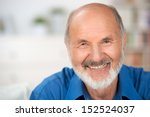 close up portrait of a smiling... | Shutterstock . vector #152524037