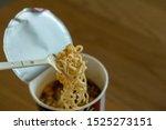 Hot Noodle Cup. Noodle Cup...