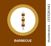 barbecue icon   grilled food... | Shutterstock .eps vector #1525281461