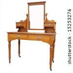 antique dressing table with... | Shutterstock . vector #15253276