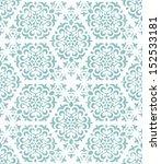 ornate geometric wallpaper.... | Shutterstock .eps vector #152533181