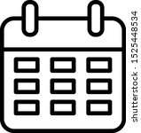 calander vector icon with white ...