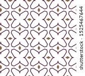 seamless geometric ornamental... | Shutterstock .eps vector #1525467644