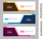 vector abstract design web... | Shutterstock .eps vector #1525545251